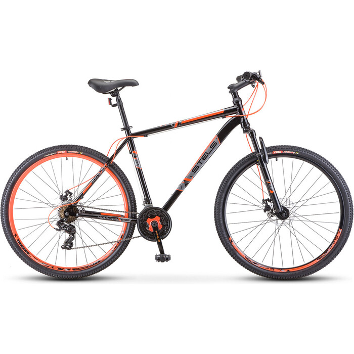 Велосипед Stels Navigator-900 MD 29 F020 17.5 Чёрный/красный