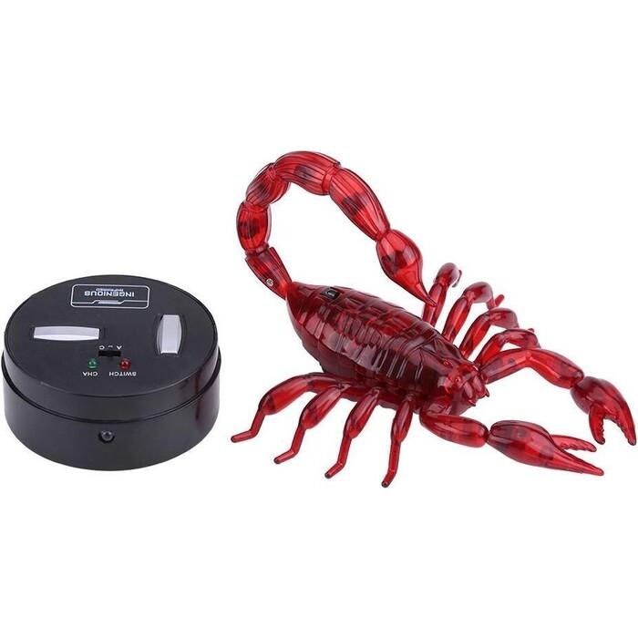 Радиоуправляемый робот Jin Xiang Toys Красный Скорпион - ZF-9992A