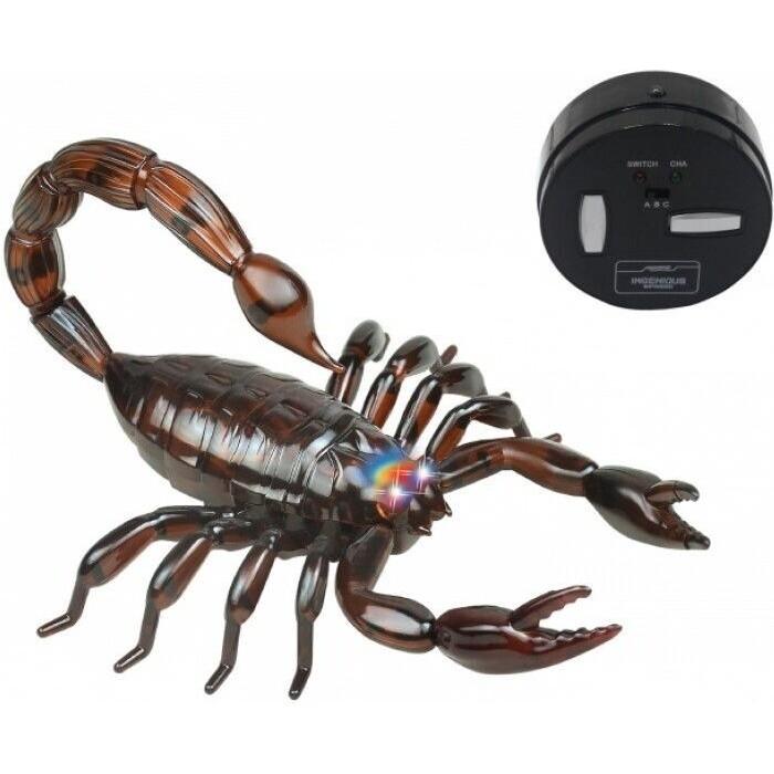 Радиоуправляемый робот Jin Xiang Toys Черный Скорпион - ZF-9992B