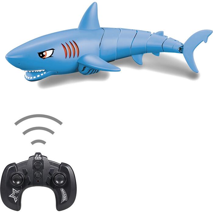 Радиоуправляемый робот Create Toys Акула (синий, плавает в воде) - LNT-K23B-BLUE