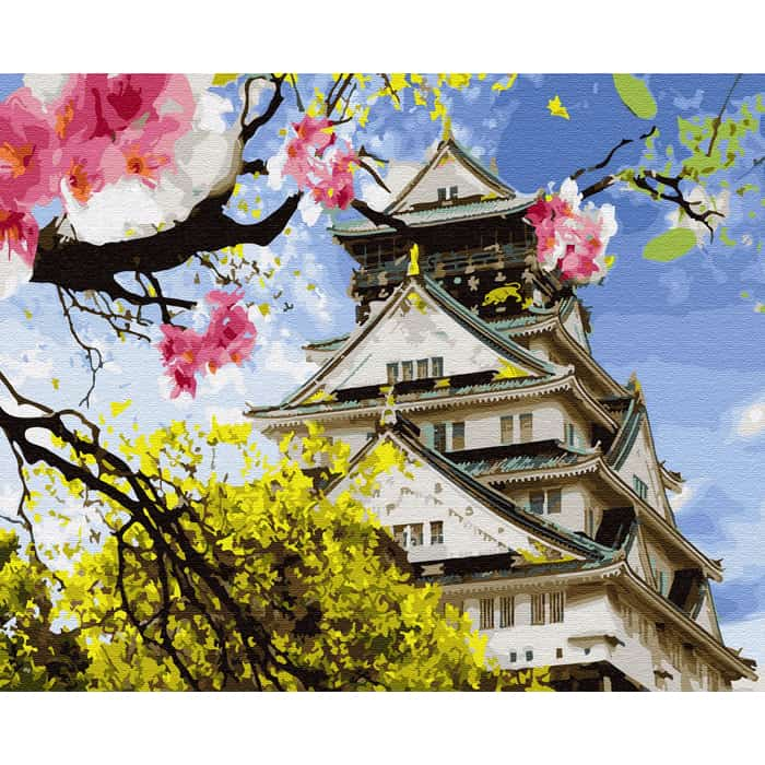 Картины по номерам MOLLY Японская весна 40х50 - KH0642