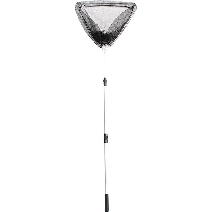 Подсачек складной телескопический Namazu L- 150 см, треугольный обод 40 см, капрон