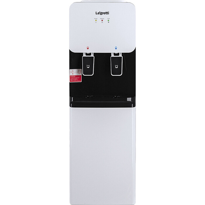 Кулер для воды напольный Lagretti 85LDc Rome white/black