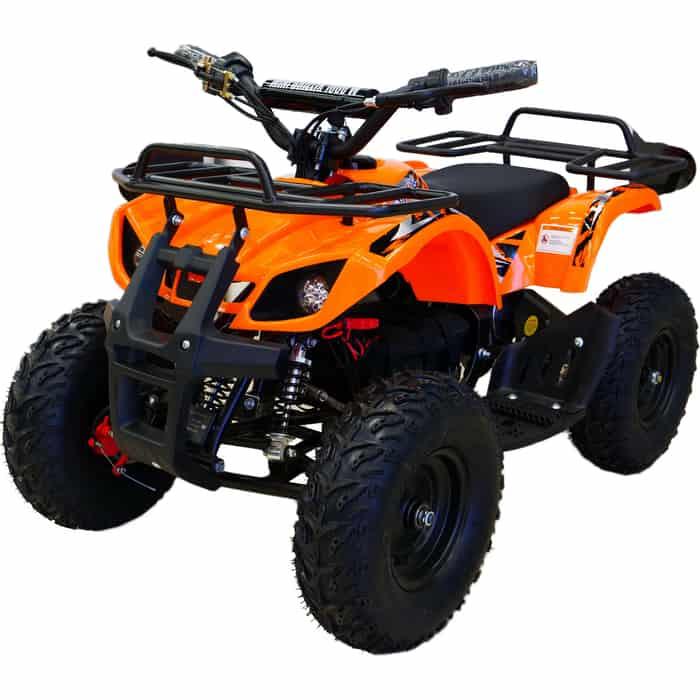 детский электроквадроцикл Электроквадроцикл MOTAX Х-16 1000W Большие колеса Оранжевый