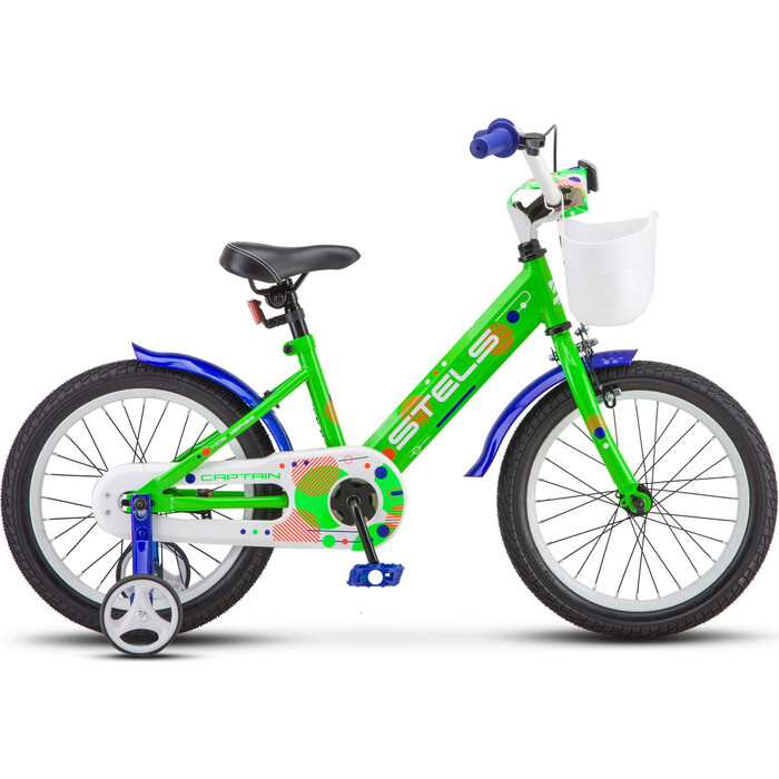 Велосипед Stels Captain 16 V010 9.5 Мятный