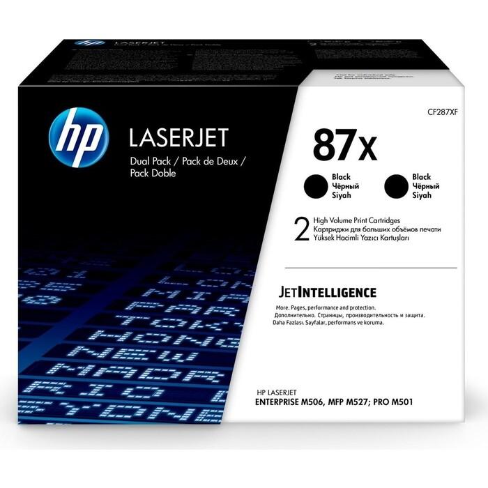 Картридж лазерный HP 87X CF287XD черный x2 упак. (36000стр.)