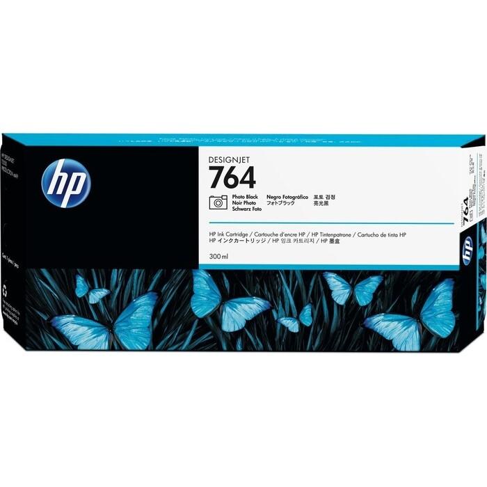 Картридж струйный HP 764 C1Q17A фото черный (300мл)