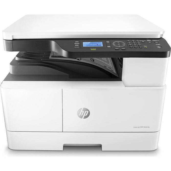 МФУ HP LaserJet Pro M442dn (8AF71A) A3 Net белый/черный
