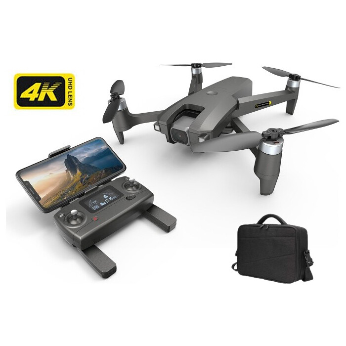 Радиоуправляемый квадрокоптер MJX MEW4-1 камера 4K FPV GPS с сумкой - MJX-MEW-1-4K