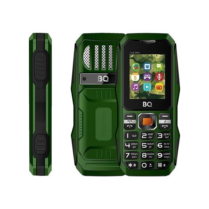 Мобильный телефон BQ 1842 Tank mini Dark Green