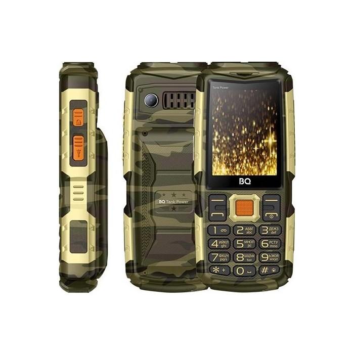 Мобильный телефон BQ 2430 Tank Power Camouflage/Gold
