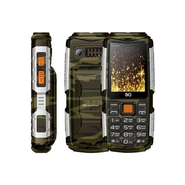 Мобильный телефон BQ 2430 Tank Power Camouflage/Silver