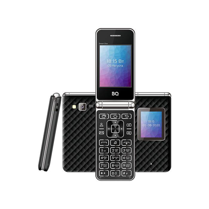 Мобильный телефон BQ 2446 Dream Duo Black