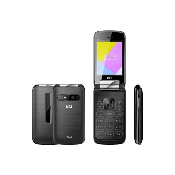 Мобильный телефон BQ 2816 Shell Black мобильный телефон bq 2814 shell duo gold