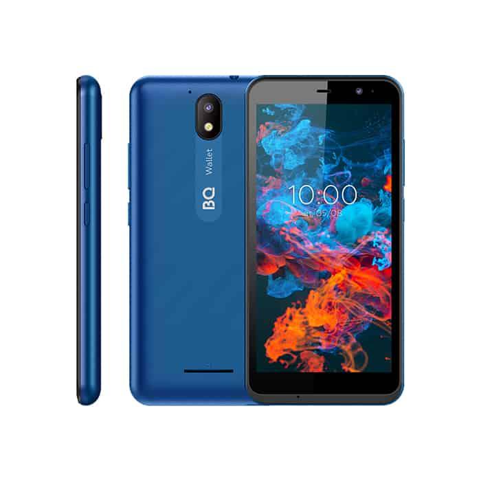 Смартфон BQ 5045L Wallet Blue Chameleon