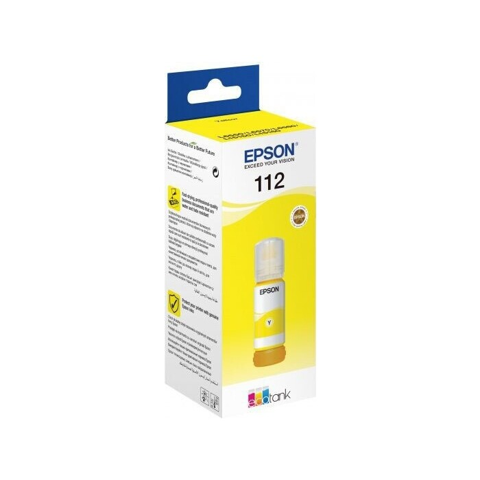 Чернила Epson I/C (y) L65xx/L15xxx (C13T06C44A)