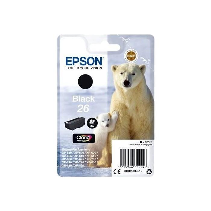 Картридж Epson I/C (b) XP600/7/8 pigment new (C13T26014012)