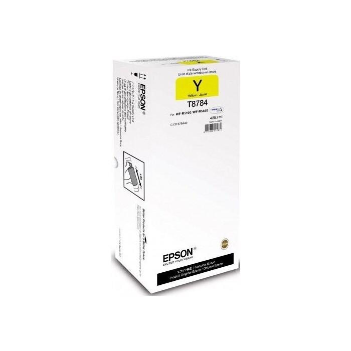 Картридж Epson I/C (y) WF-R5xxx XXL (C13T878440)