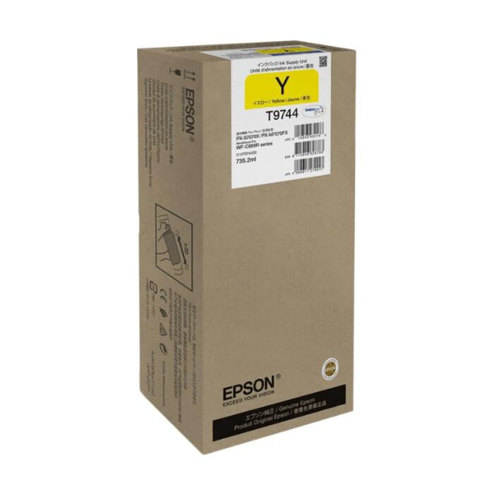 Картридж Epson I/C (y) WF-C869R XXL (C13T974400)