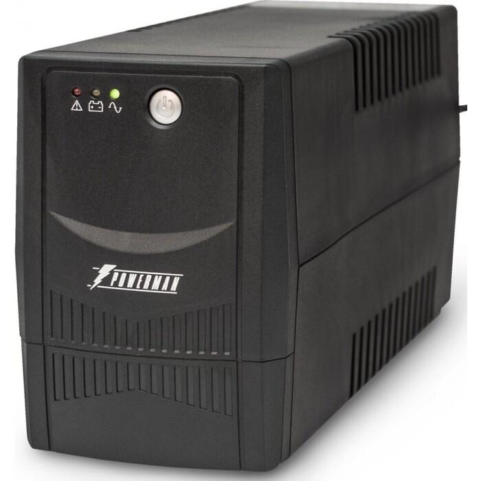 ИБП PowerMan Back Pro 800 Plus интерактивный ибп powerman back pro 1000 plus