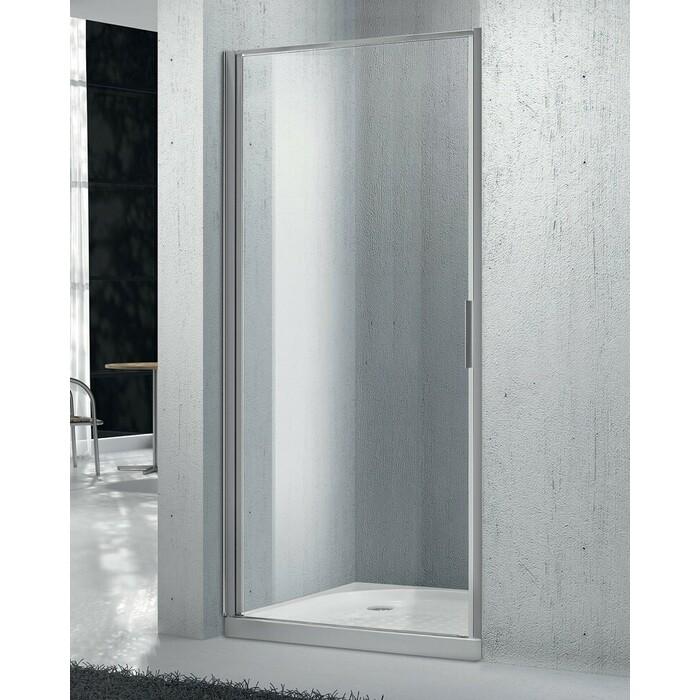 Душевая дверь BelBagno Sela B-1 80х190 порзрачная, хром (SELA-B-1-80-C-Cr) душевая дверь belbagno sela b 2 80 chinchilla хром sela b 2 80 ch cr