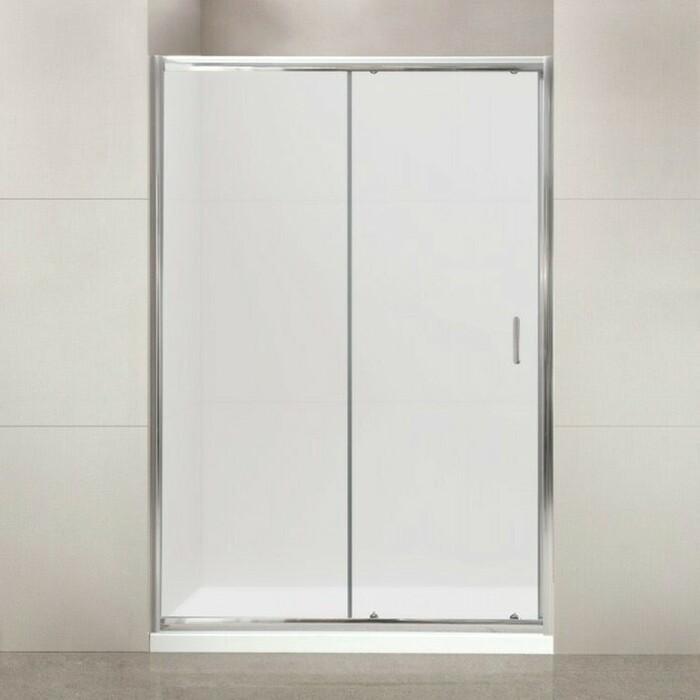 Душевая дверь BelBagno Uno BF-1 115x185 матовая, хром (UNO-BF-1-115-M-Cr)