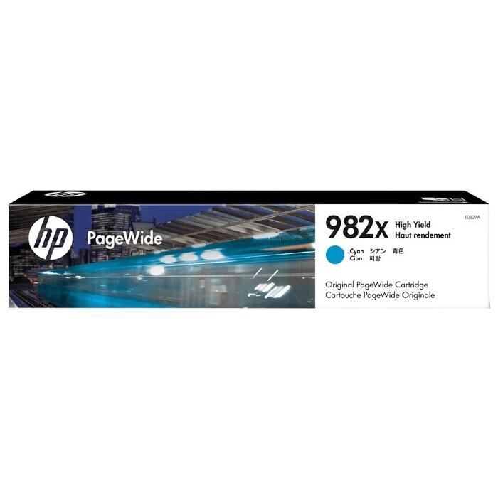 Картридж HP 982X High Yield Cyan Original (T0B27A)