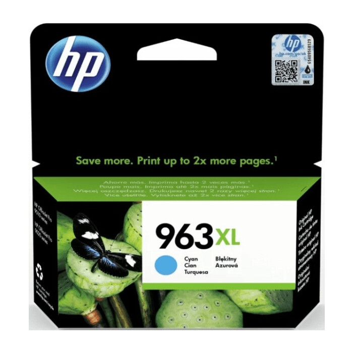 Картридж HP 963XL High Yield Cyan Original (3JA27AE)
