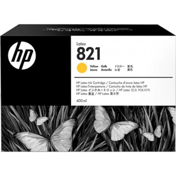 Картридж HP 821A 400 ml Yellow Latex (G0Y88A)