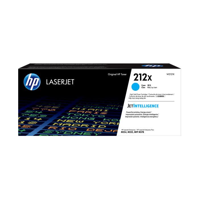 Тонер-картридж HP 212X High Yield Cyan Original (W2121X)
