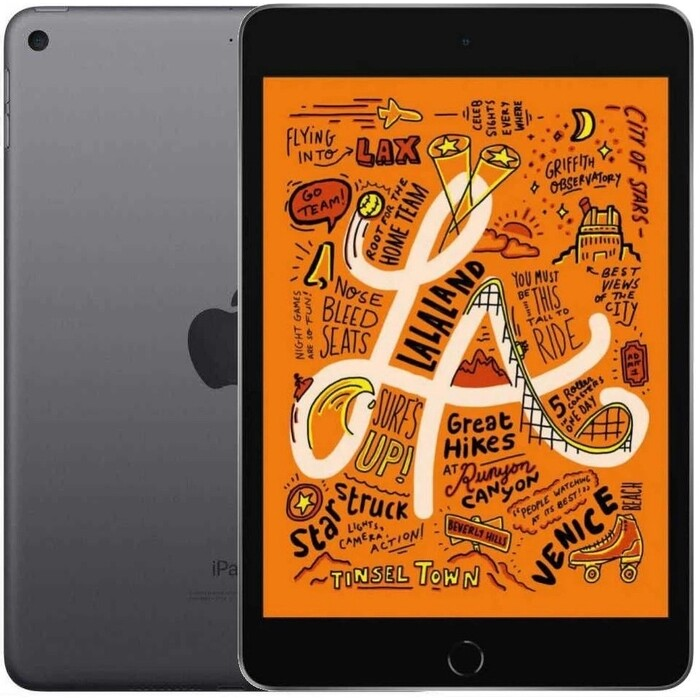 Планшет Apple iPad mini Wi-Fi + Cellular 256GB, Space Grey (MUXC2RU/A) планшет apple ipad mini 2019 256gb wi fi cellular silver
