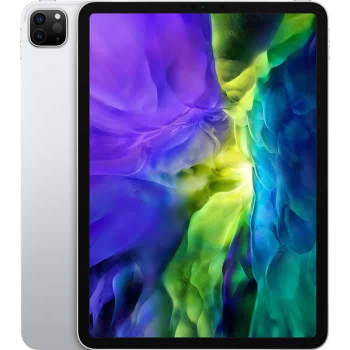 Планшет Apple 11-inch iPad Pro Wi-Fi + Cellular 256GB, Silver (MXE52RU/A) планшет apple ipad pro 11 2020 256gb wi fi cellular silver