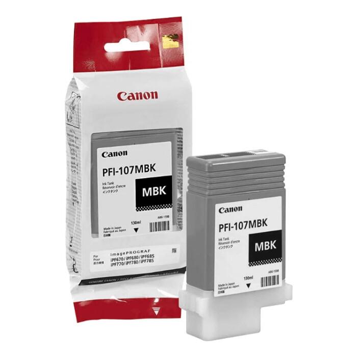 Картридж струйный Canon PFI-710 MBK, черный матовый (2353C001) картридж canon pfi 303 mbk для ipf815 825 черный матовый