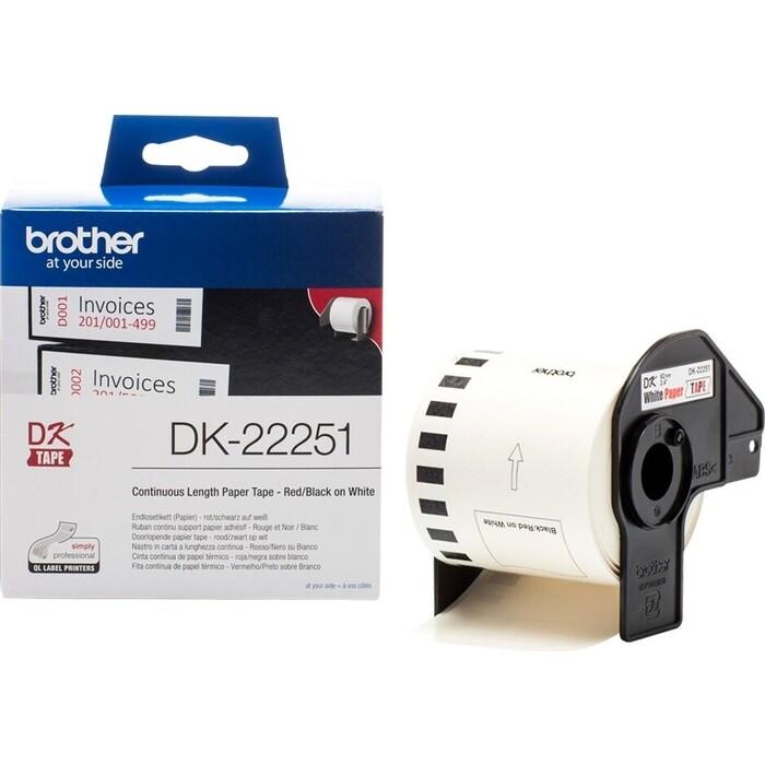 Картридж ленточный Brother для QL-570 (DK22251)