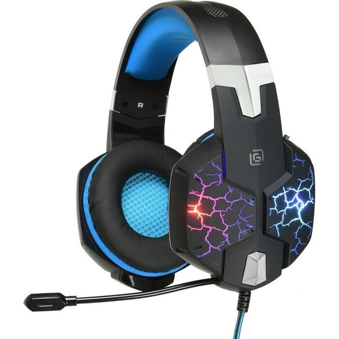 Наушники с микрофоном Oklick HS-L930G SNORTER, черный, 2.1 м игровая гарнитура oklick hs l930g snorter черный синий hs l930g