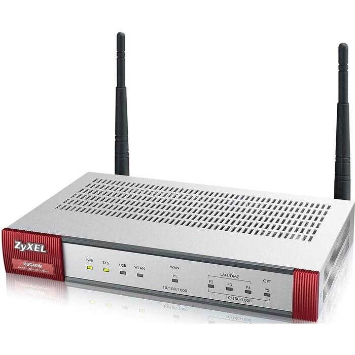 Межсетевой экран ZyXEL USG 40W Unified Security Gateway 40W (USG40W-RU0101F)