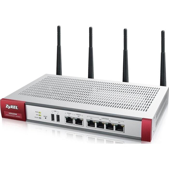 Межсетевой экран ZyXEL USG 60W Unified Security Gateway 60W (USG60W-RU0101F)