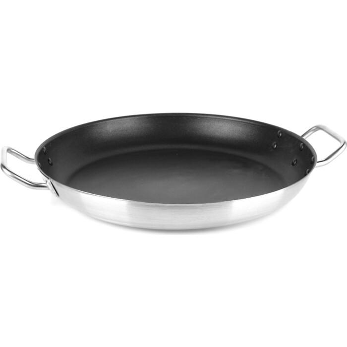 Сковорода с тройным дном VIATTO 101809 нержавеющая сталь 400x55 мм с антипригарным покрытием