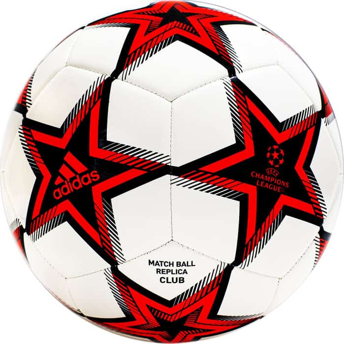 Мяч футбольный Adidas UCL Club Ps GT7789, р.5, ТПУ