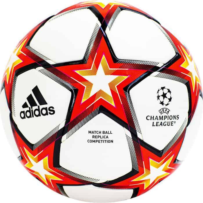 Мяч футбольный Adidas UCL Competition PS GU0209, р.4