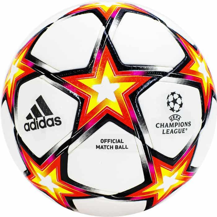 Мяч футбольный Adidas UCL PRO Ps GU0214, р.5, 32 панели