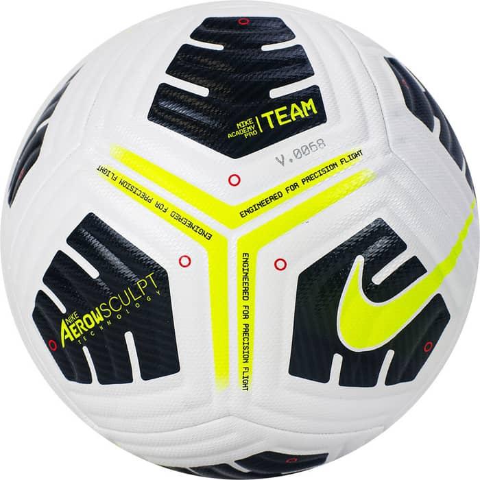 Мяч футбольный Nike Academy Pro Ball, CU8038-100, р.5 nike бутсы для мальчиков nike jr vapor 13 academy fg mg размер 34