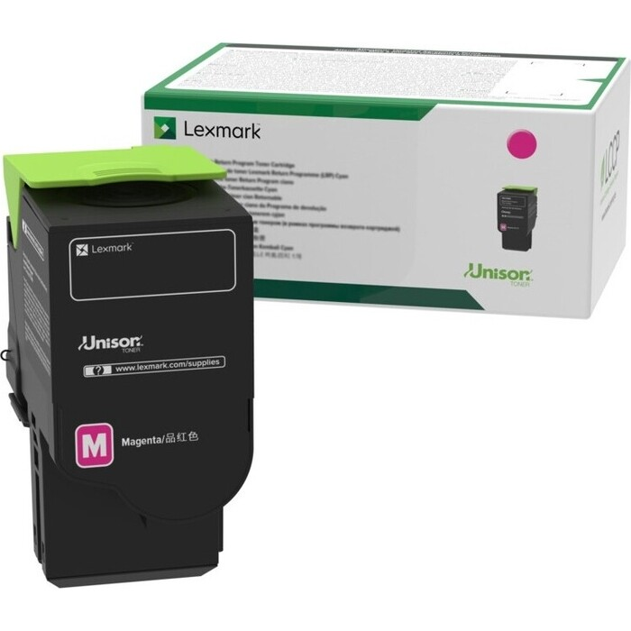 Картридж Lexmark контрактный улт.емкости с пурпурным тонером (78C5UME)