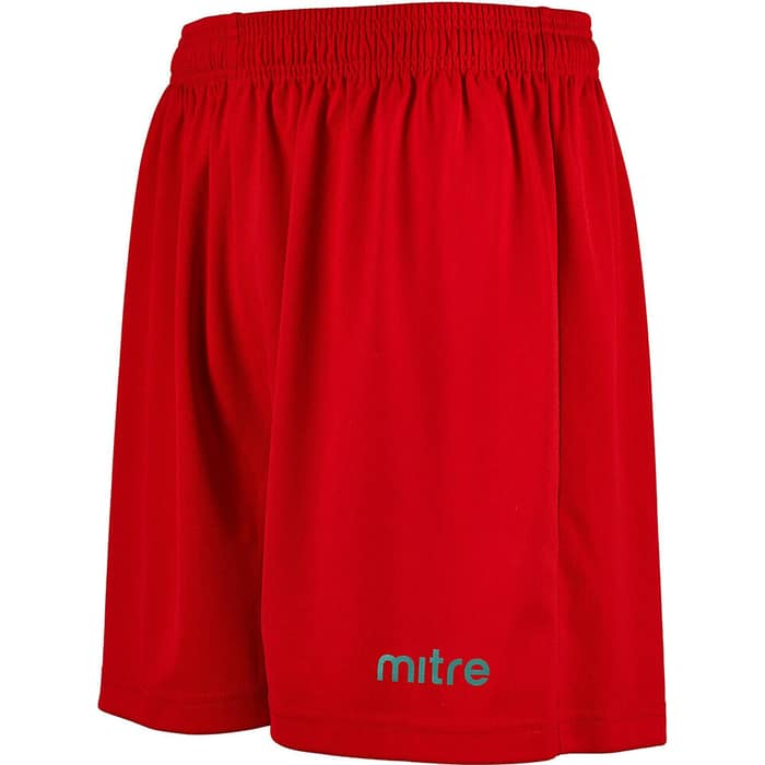 Шорты игровые Mitre Metric T50101SCA-S р. S 100% полиэстер, красный