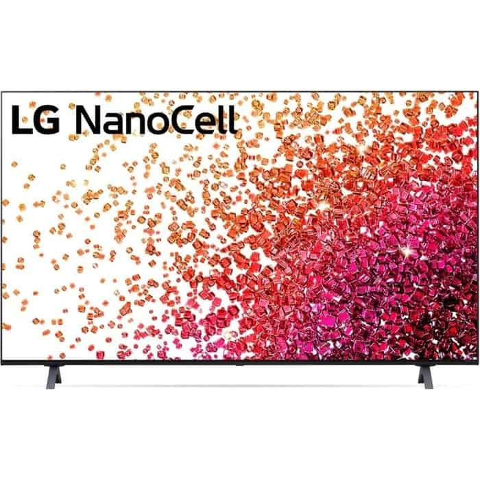LED Телевизор LG 65NANO756PA NanoCell черный телевизор nanocell lg 65nano956na 65 2020 черный