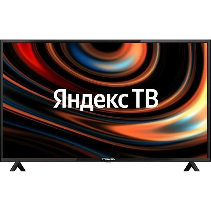 Фото - LED Телевизор StarWind SW-LED42SB301 Яндекс.ТВ черный телевизор starwind sw led43f422st2s 42 5 2018