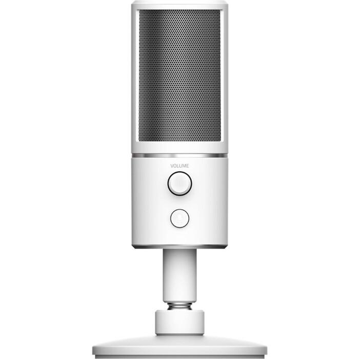 Микрофон Razer Seiren X Mercury (RZ19-02290400-R3M1) микрофон razer seiren x черный [rz19 02290100 r3m1]