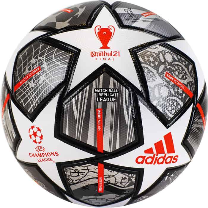 Мяч футбольный Adidas Finale Lge GK3468, р.5, FIFA Quality, термосшивка, мяч футб demix fifa quality р 5 2021 для газона 0 44гр белый s21edeat007 00