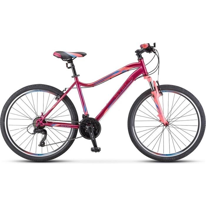 Велосипед Stels Miss-5000 V 26 K010 16 Вишнёвый/розовый