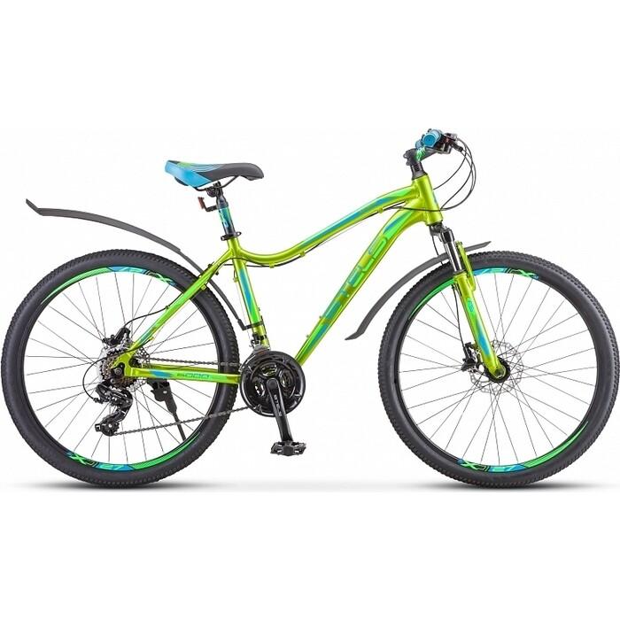 Велосипед Stels Miss-6000 D 26 V010 17 Жёлтый/зелёный